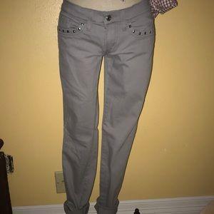 Levi's Jeans - Levi's 524 Too Superlow gray stud jeans